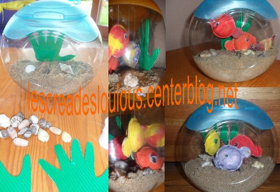 Aquarium pour papa for Aquarium plastique